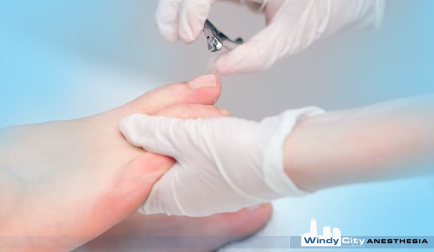 Anesthesia Services for Podiatric Surgery
