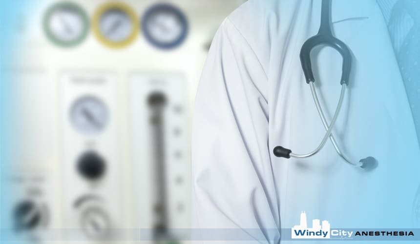 How long will it take for Windy City Anesthesia to begin doing your anesthesia?